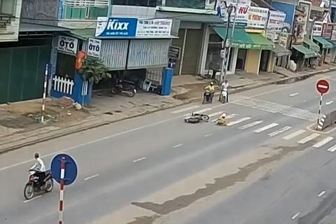 clip tai nạn giao thông 2