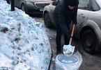 Bí ẩn tuyết xanh bao phủ khắpquê nhà của ông Putin