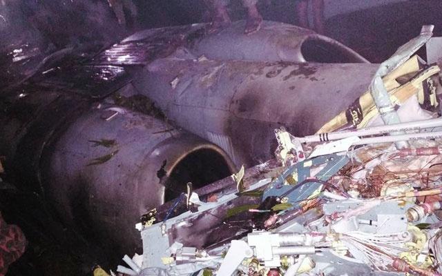 Hai chiến cơ Bangladesh đâm nhau trên trời
