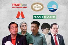 Những sếp ngân hàng 'ngã ngựa' năm qua