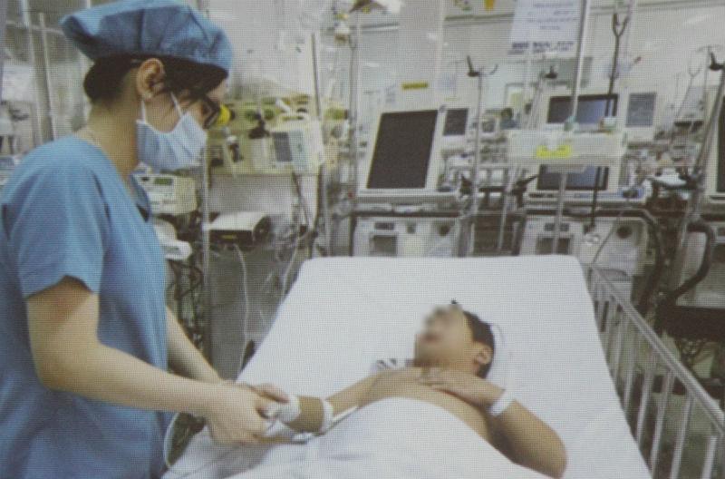 dị vật,hóc dị vật,bệnh viện nhi đồng 1