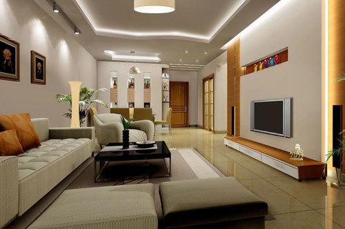 Mẫu thiết kế phòng khách nhà ống đẹp 1
