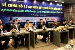 Công bố 10 sự kiện CNTT-Truyền thông tiêu biểu 2017