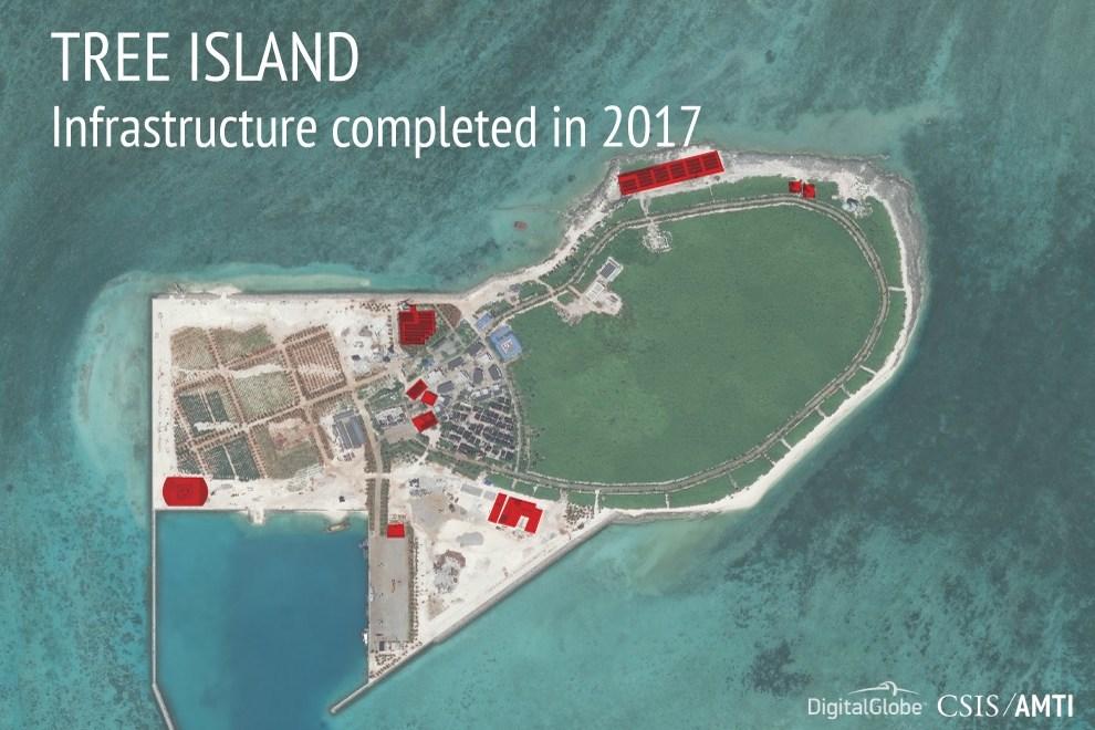 Trung Quốc vẫn không ngừng xây dựng căn cứ trên Biển Đông