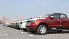Hàng ngàn ô tô xếp hàng dài ở cảng chờ… ngày giảm thuế