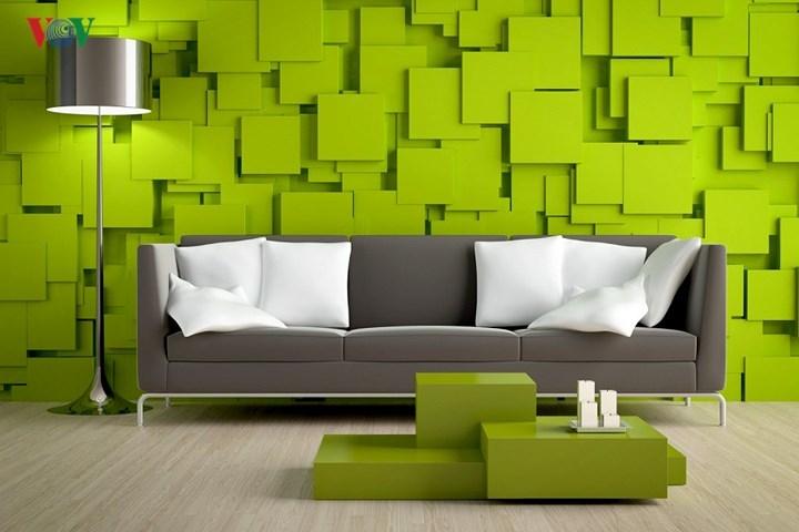 nhà đẹp,trang trí nhà,nội thất màu xanh lá