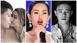 Ảnh nóng, bờ môi hoa hậu và ca sĩ bị chủ nợ chém gây chấn động showbiz Việt