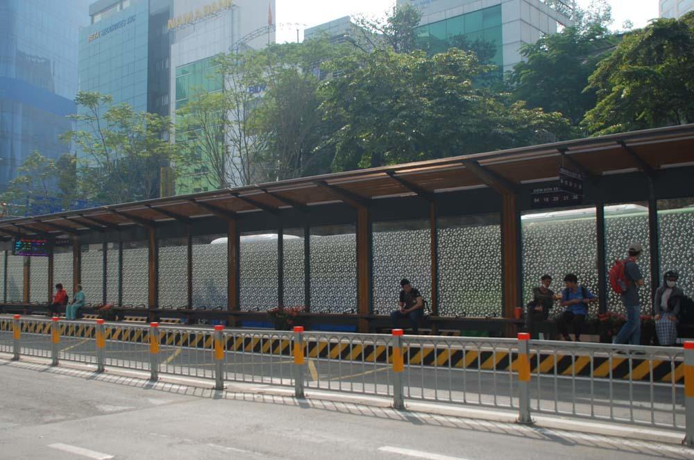 xe buýt,trạm xe buýt,Bến Thành,Sài Gòn
