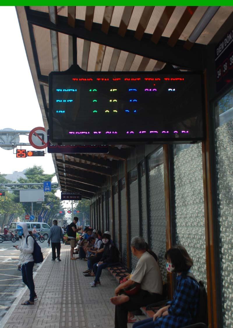 Trạm xe buýt 8,5 tỷ sang chảnh nhất Sài Gòn có gì?