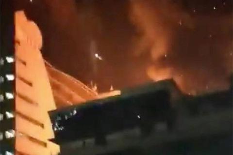 Cháy ở Mumbai
