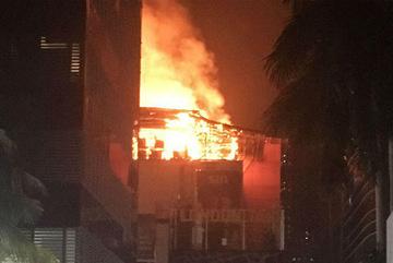 Cháy lớn ở Mumbai, 15 người thiệt mạng