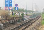 Tàu hỏa kéo lê nữ công nhân hơn 10m ở Sài Gòn