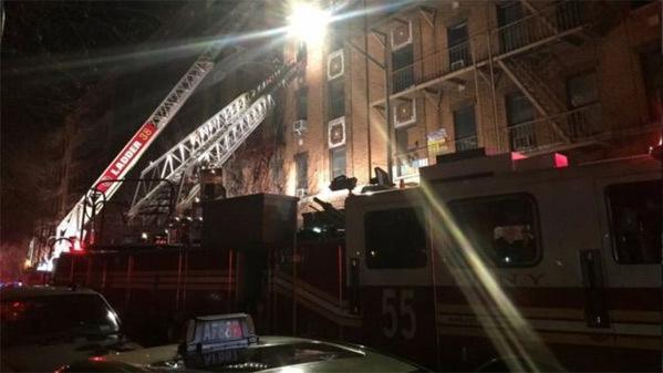 Hỏa hoạn,New York,cháy chung cư