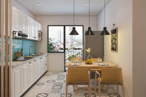 5 cách thiết kế nội thất nhà bếp cho căn hộ nhỏ xinh