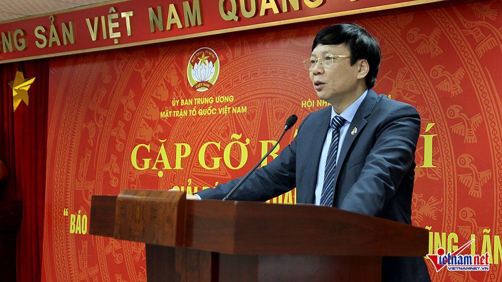 tham nhũng,hội nhà báo Việt Nam,Ủy ban TƯ MTTQ Việt Nâm