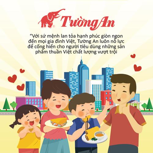 Bí quyết giúp Tường An Cooking Oil thân thuộc với gian bếp Việt