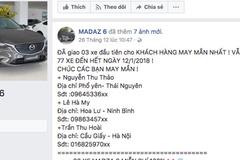 Hàng chục nghìn người bị lừa bởi fanpage 'tặng Mazda6'