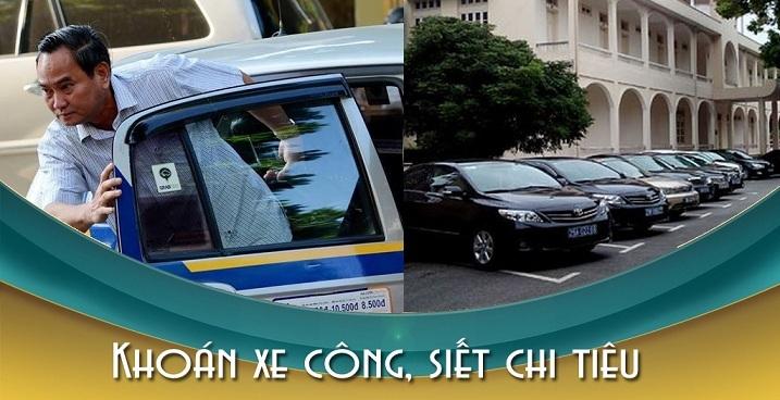 Giải 'thiêng' xe công: Đi taxi, thứ trưởng thích như ô tô biển xanh