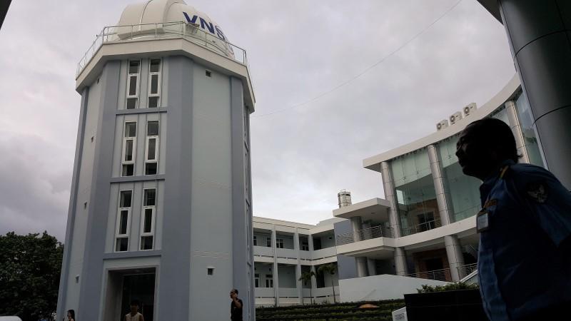 Phổ biến kiến thức khoa học ở đài thiên văn đầu tiên của Việt Nam