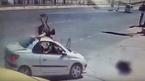 Phóng xe đạp ngược chiều, cậu bé bị ô tô hất bay lên nóc