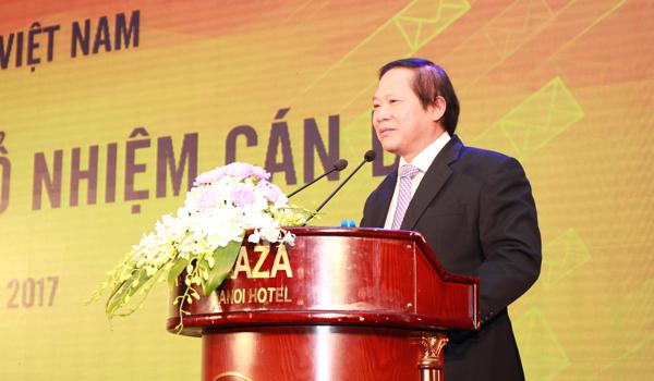 Bổ nhiệm chủ tịch HĐTV Bưu điện Việt Nam