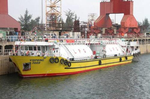 DQS bàn giao tàu LPG 1.200m3 cho chủ đầu tư