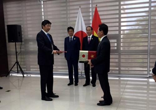 Petrovietnam kí thỏa thuận hợp tác với công ty Mitsui Nhật Bản