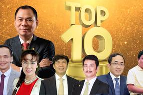 Chốt năm, top 10 tỷ phú Việt đếm túi tiền tỷ USD