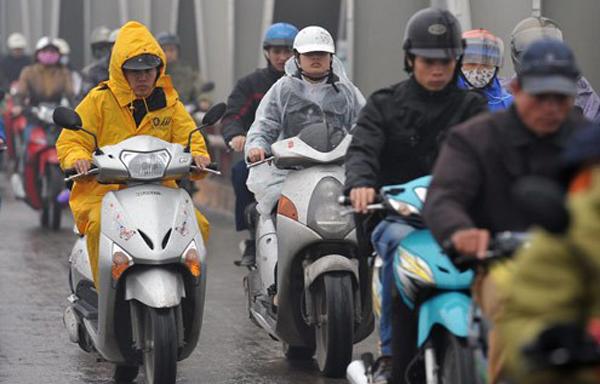 Dự báo thời tiết 30/12: Thêm khí lạnh, miền Bắc mưa rét