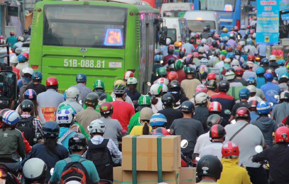 tắc đường,ùn tắc,nghỉ Tết dương lịch,Tết dương lịch,2018,Hà Nội