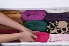 Mẹo gấp đồ siêu nhanh giúp tủ quần áo luôn rộng rãi