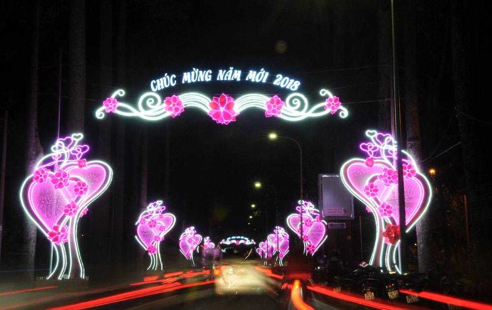 Tết dương lịch,năm 2018,Sài Gòn