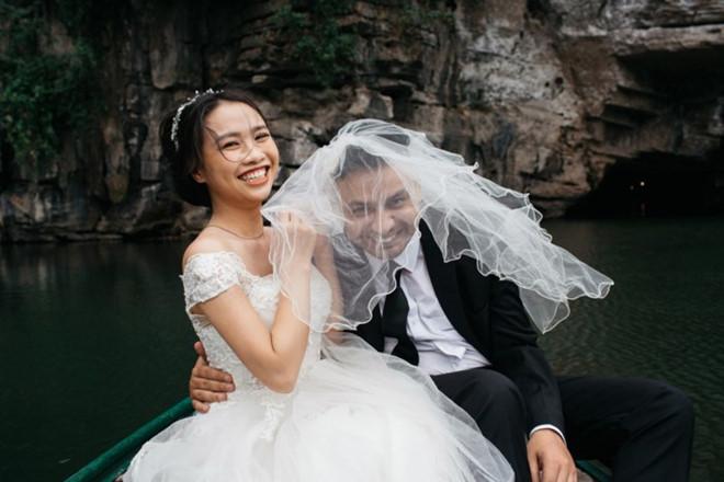 Đám cưới,Chồng Tây vợ Việt