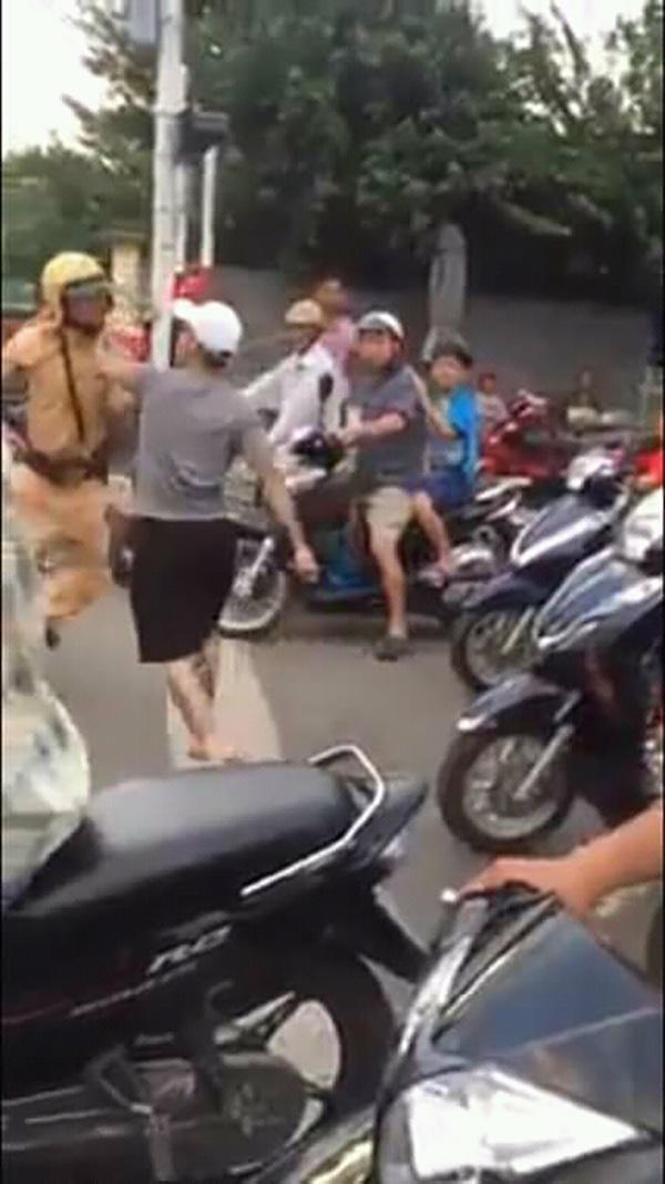 Nha Trang: Tạm giam đối tượng hành hung cảnh sát giao thông