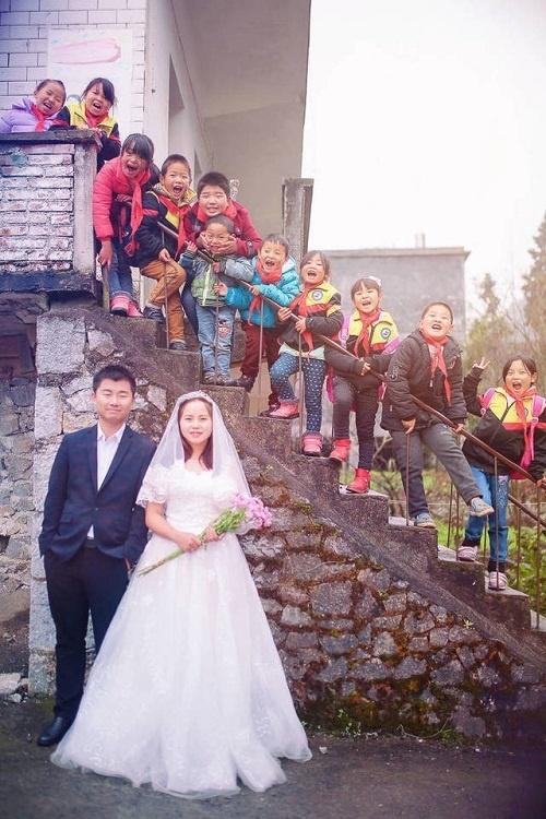 Giáo viên,Ảnh cưới