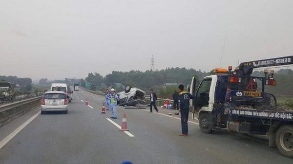 tai nạn,tai nạn giao thông,tai nạn trên cao tốc