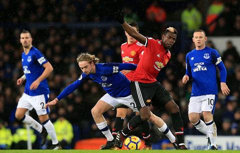 Video Pogba vs Everton