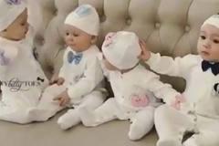 Hậu trường chụp ảnh cực yêu của 4 em bé
