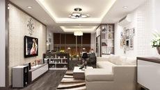 Căn hộ cao cấp lên đời nội thất 500 triệu đẹp ngất ngây ở Hà Nội