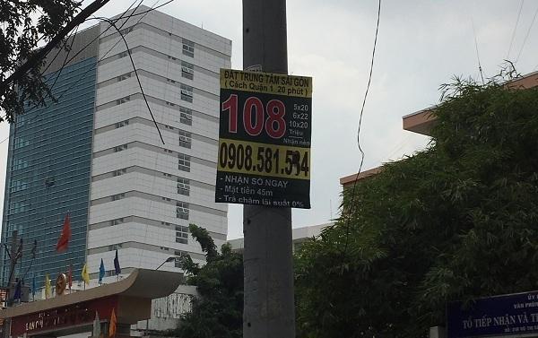 mua bán nhà đất,cơn sốt đất nền,đất nền Sài Gòn