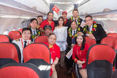 Năm 2017, Vietjet nhận 17 tầu bay mới