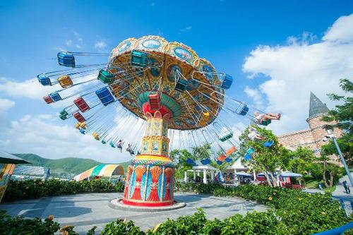 Lễ hội hoa xuân đẹp như mơ ở Vinpearl Land Nha Trang