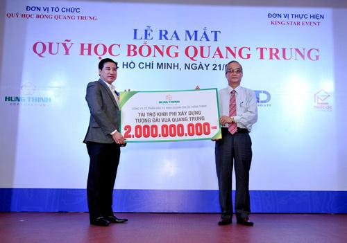 Chủ tịch Tập đoàn Hưng Thịnh được vinh danh Sao Đỏ 2017
