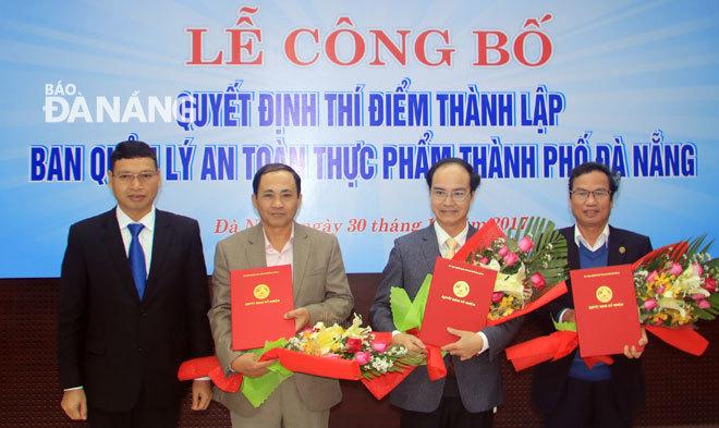 Điều động, bổ nhiệm nhân sự Hà Nội, Đà Nẵng, Hậu Giang