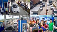 BOT Ninh An: Dàn xe ô tô gây tắc trạm thu phí 1 tiếng