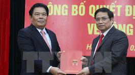 Ông Sơn Minh Thắng giữ chức Bí thư Đảng ủy Khối các cơ quan TƯ