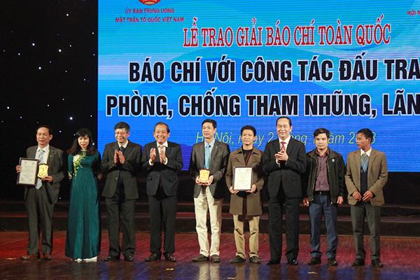 Chủ tịch nước,Trần Đại Quang,báo chí,phòng chống tham nhũng