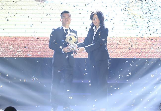 QBV Việt Nam 2017,Đinh Thanh Trung,Công Phượng,Quả bóng vàng Việt Nam 2017
