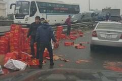 Xác minh thông tin tài xế taxi 'hôi của' xe tải gặp nạn