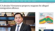 Singapore xác nhận tạm giữ ông 'Phan Van Anh Vu'